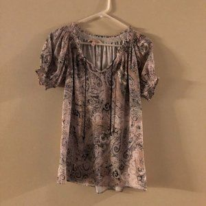 PHILOSOPHY BLOUSE SILK SIZE SMALL